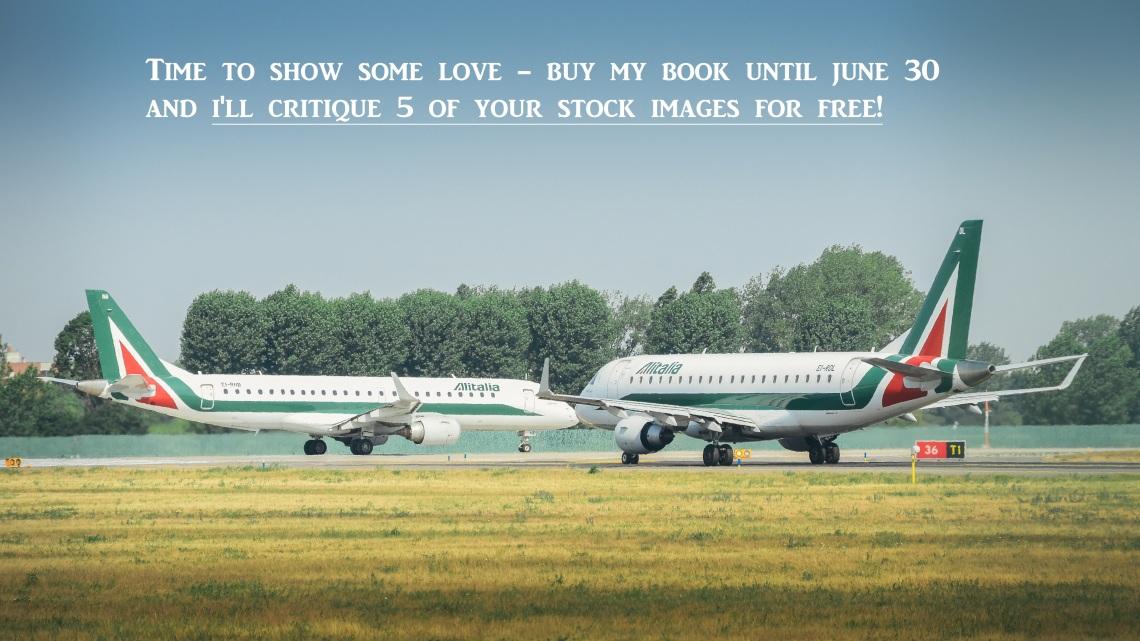 Airplanes at Linate, Milan2