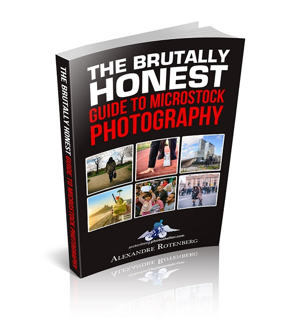Brutally Honest Guide to Microstock Photography cover