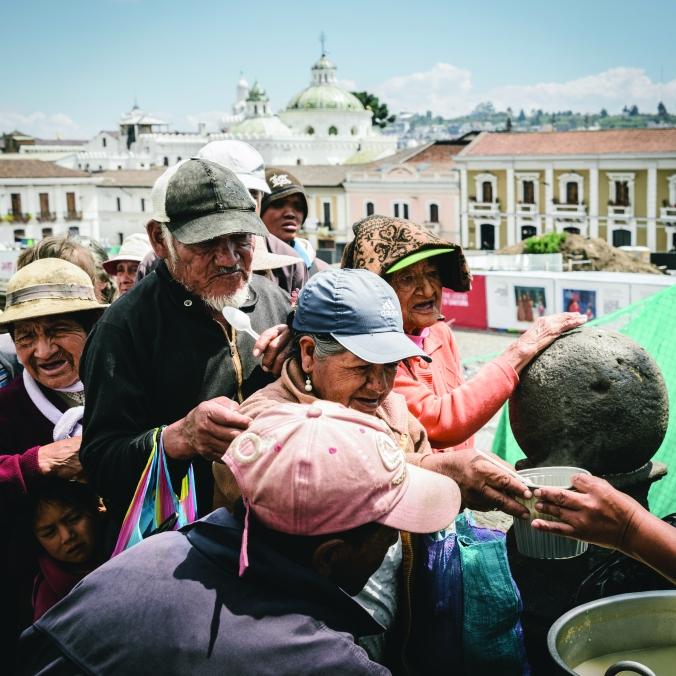 Charity work in Quito, Ecuador