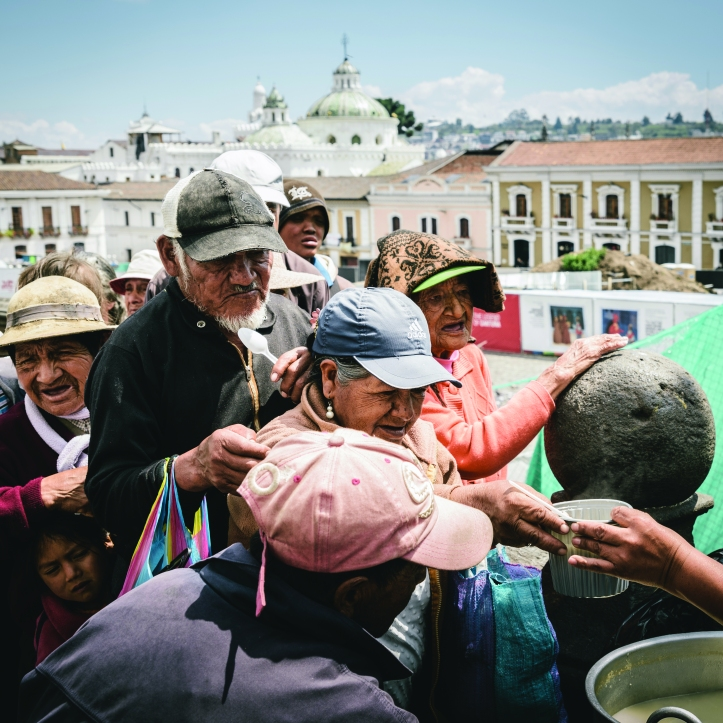 Charity work in Quito, Ecuador