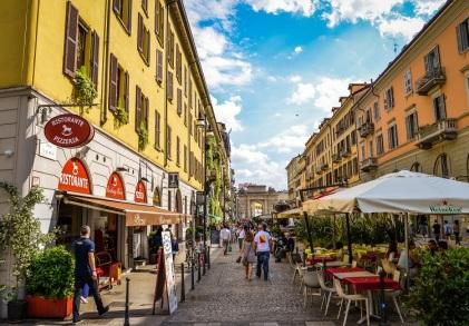 Corso Como, Milan, Italy