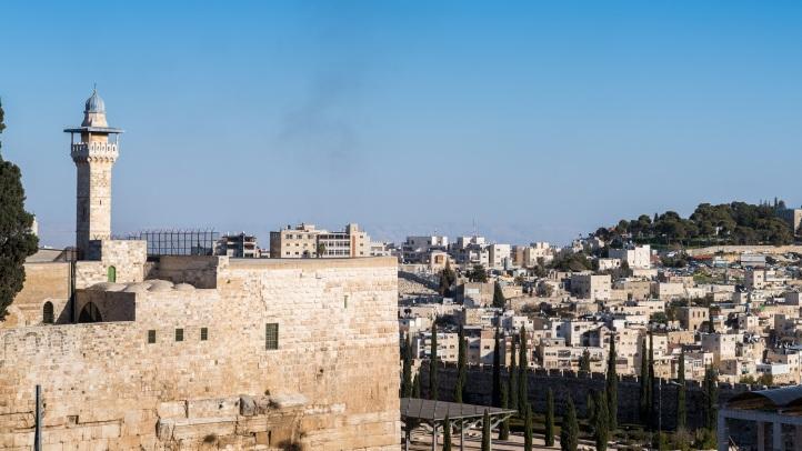 jerusalem old town overview
