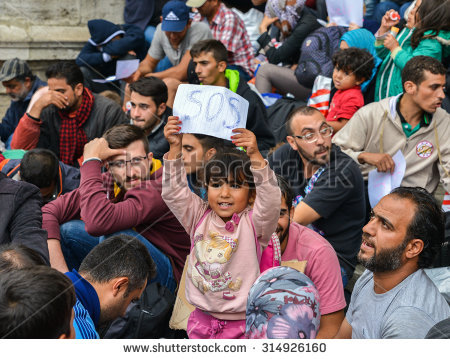 stock-photo-budapest-hungary-september-refugees-at-the-keleti-railway-station-on-september-314926160