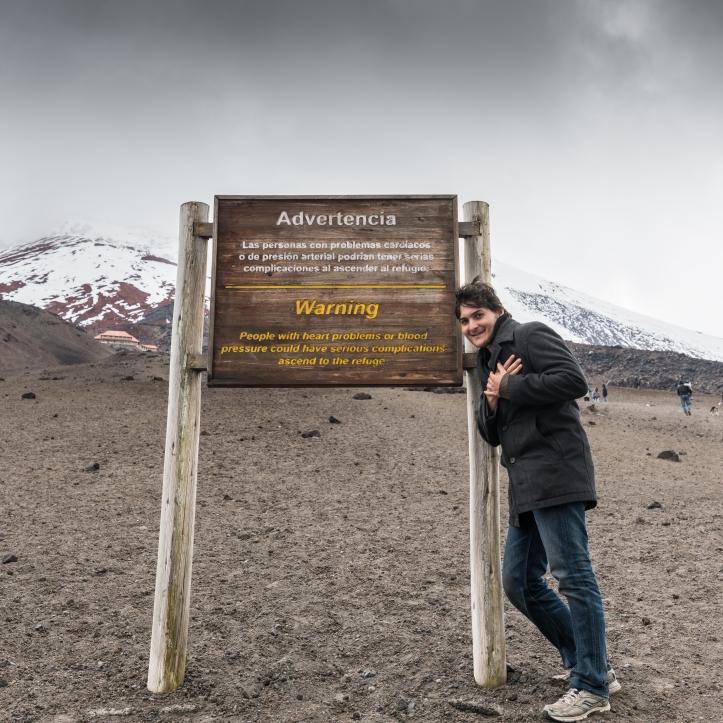 volcano climb