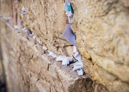 wailing wall notes