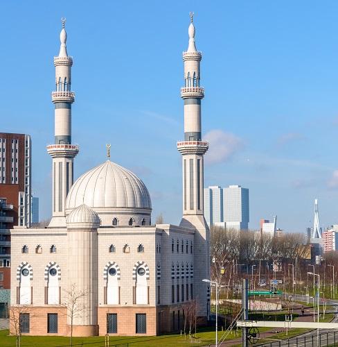 Muslim temple in Rotterdam (1)