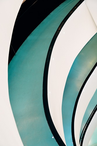 Image for backgrounds: detail of arcs prospective in a long corridor