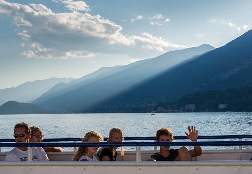 Tourists Bellagio