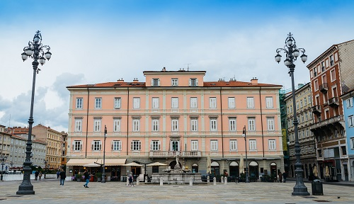 palace in Trieste