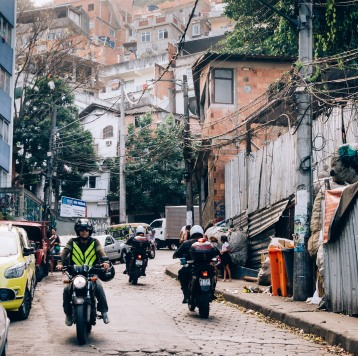 police and favela