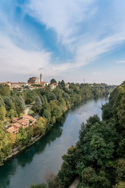 River Adda in northern Italy