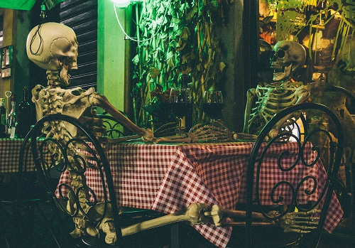 Skeletons on a date