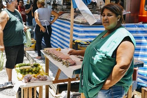 Fish market in Ipanema, Rio de Janeiro