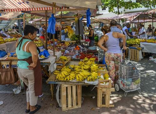 Fruit and vegetable market in Ipanema, Rio de Janeiro, Brazil