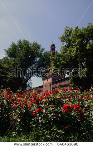 stock-photo-castello-sforzesco-in-milan-italy-640463896