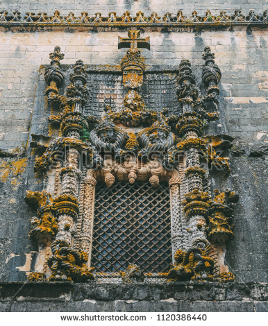 stock-photo-tomar-portugal-june-facade-of-the-convent-of-christ-with-its-famous-intricate-1120386440