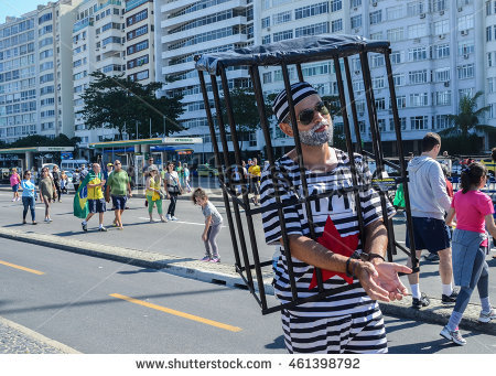 stock-photo-rio-de-janeiro-brazil-july-st-protestors-gather-on-copacabana-beach-to-vent-their-461398792