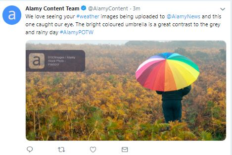 alamy live news weather