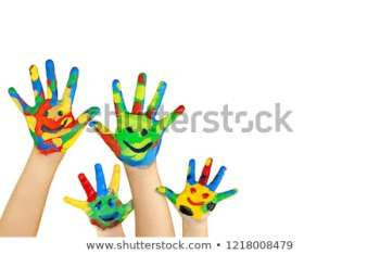 kids-hands-painted-smile-symbol-450w-1218008479