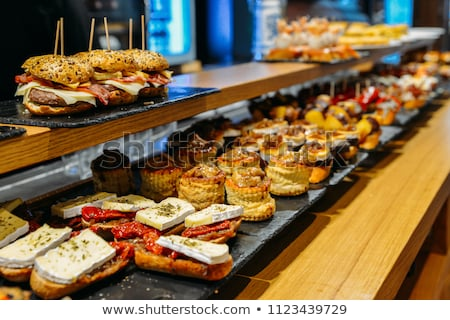 spanish-tapas-called-pintxos-basque-450w-1123439729