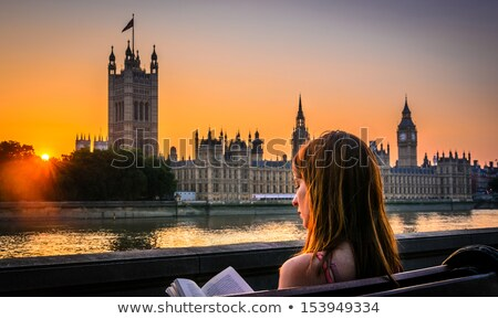 woman-reading-book-next-houses-450w-153949334