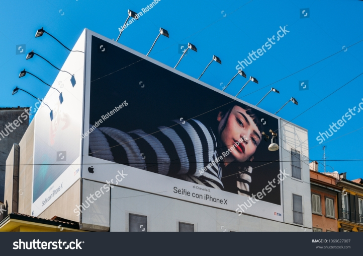 stock-photo-milan-italy-april-st-a-giant-iphone-x-billboard-1069627007