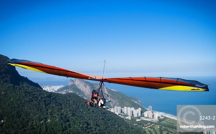 Hang Gliding in Rio de Janeiro, Brazil