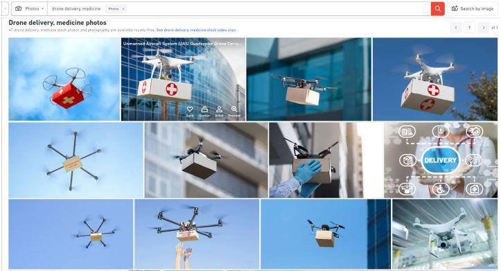 drone delivery medicine