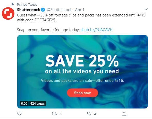 shutterstock discount