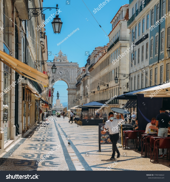 stock-photo-lisbon-portugal-august-almost-deserted-augusta-street-in-baixa-lisbon-portugal-during-1793166622
